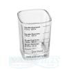 Espreso gurkšnio matuoklė, 22-60ml, 4 matavimo skalės, 48x48x60mm, JOA FREX