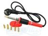 Elektrinis lituoklis, 30W, 230V, 50Hz, 275°C, 6 skirtingi, lengvai keičiami antgaliai